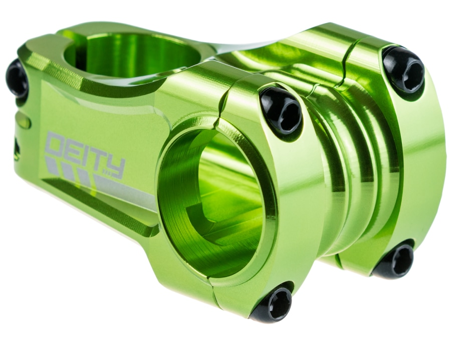 DEITY COPPERHEAD STEM 50mm GREEN