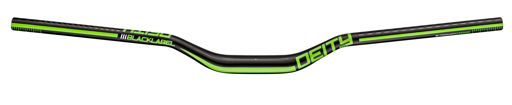 DEITY BLACKLABEL 800 HANDLEBAR GREEN